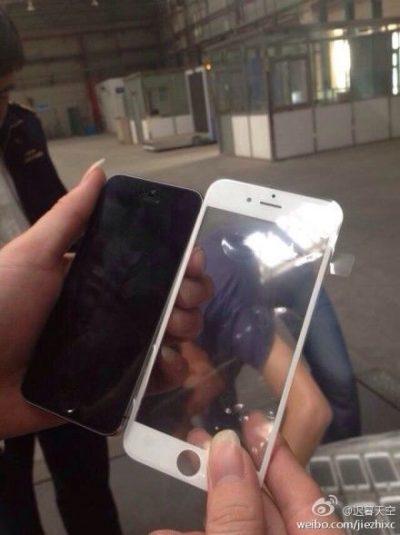 تسريب صورة واجهة هاتف iPhone 6