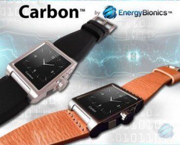 """شركة """" إنرجي بيونيكس """" تطور ساعة يد قابلة لشحن الأجهزة المحمولة"""