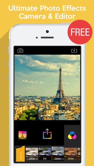 تطبيق الصور Camera Fx8 يصدر بنسخة مجانية