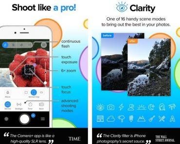 تطبيق Camera+ 6 يصل إلى نظام iOS 8 ويدعم الكثير من المميزات الجديدة