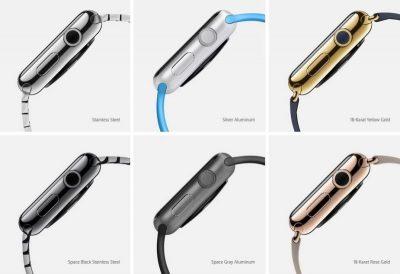الهيكل الرئيسي لساعة ابل واتش Apple Watch
