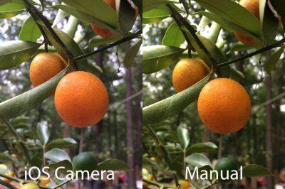 تحكم بكاميرا الايفون مع تطبيق Manual