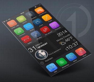 تحميل ثيمات ايفون مجانية iOS 8