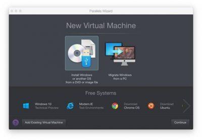 كيف تقوم بتنصيب النسخة التجريبية من ويندوز 10 على أجهزة الماك