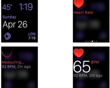 طريقة قياس معدل ضربات القلب ومعرفة مستوى نشاطك باستعمال ساعة آبل ووتش