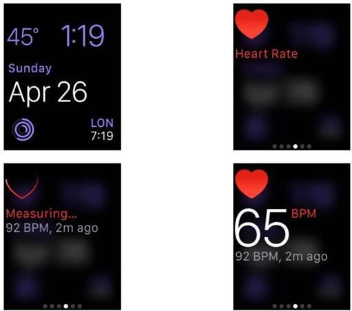 طريقة قياس معدل ضربات القلب و مستوى النشاط باستعمال ساعة آبل ووتش