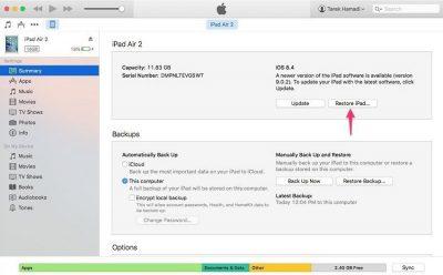 تحميل تحديث iOS 9.3.5 للايفون والايباد