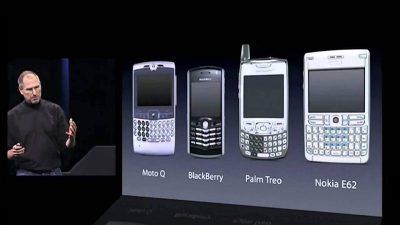 تاريخ آيفون : أول هاتف آيفون