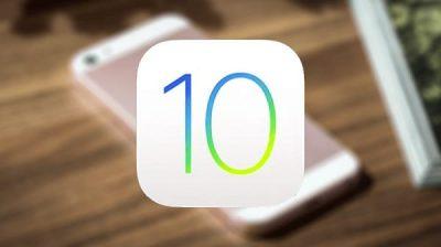 تحديث iOS 10