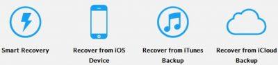 برنامج استعادة الملفات المحذوفة من الايفون