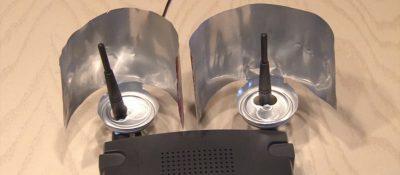 تقوية إشارة الواي فاي باستخدام علبة مشروبات غازية
