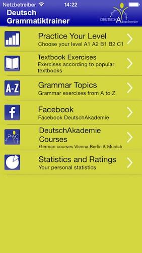 تطبيق DeutschAkademie لتعلم الألمانية