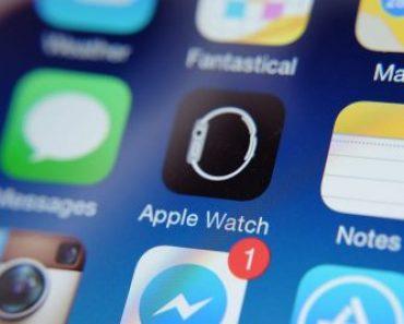 صورة ايقونة تطبيق ساعة آبل على الآيفون