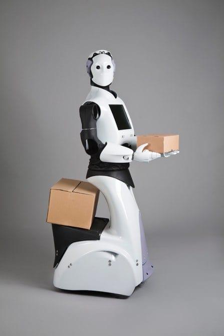 روبوت REEM كما تم تصميمه