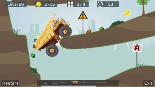 لعبة Big Truck لعبة مدفوعة مجانية لفترة