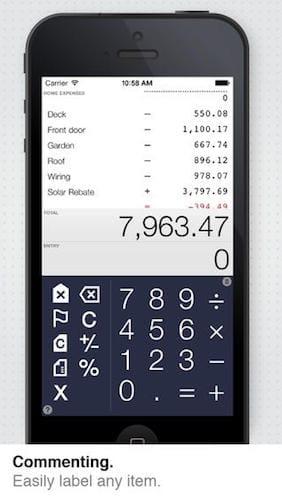 تطبيق يجمع بين الحاسبة و المجدولة