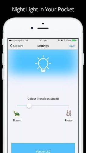 تطبيق Sleep Light تطبيق مدفوع مجاني لفترة