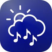 تطبيق يجمع بين الطقس وتشغيل الصوتيات