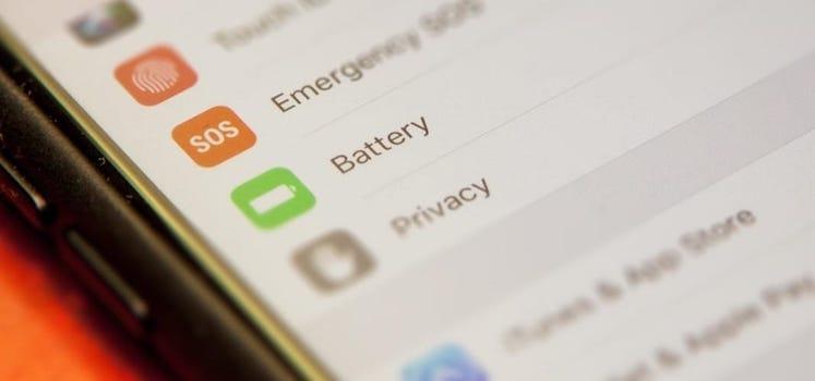 تحسين كفاءة البطارية و تطوير أدائها بعد الترقية لنظام iOS 11- الجزء الأول