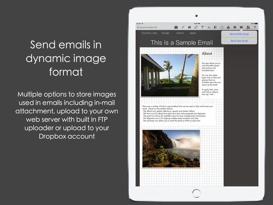 تطبيقات مجانية للايفون : أنشئ رسائل إلكترونية تفاعلية مميزة