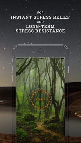 تطبيق Breathe Pro: Professional breathing course تطبيق مدفوع مجاني لفترة