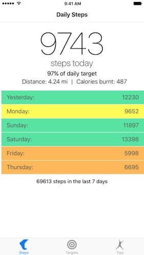 تطبيق Daily Steps تطبيق مدفوع مجاني لفترة