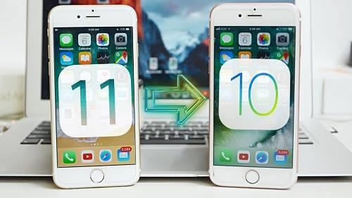 عمل استعادة و العودة لإصدار iOS 10.3.2 ثم إعادة تنصيب iOS 11