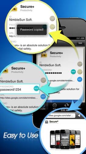 تطبيق Secure+ password manager تطبيق مدفوع مجاني لفترة