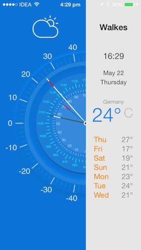 تطبيق Weather info app تطبيق مدفوع مجاني لفترة