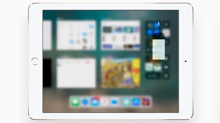 مركز التحكم الجديد في نظام iOS 11 على الايباد