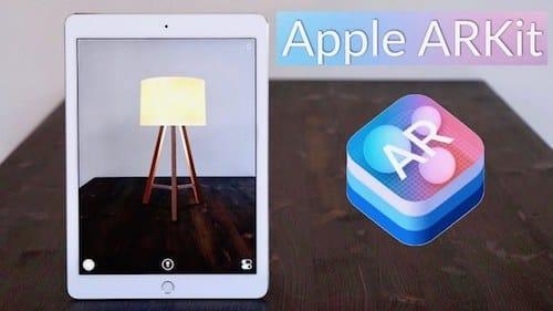 مكتبة الواقع المعزز Apple Augmented Reality