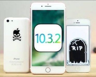 ابل تغلق باب من أبواب الجيلبريك بإيقاف دعم إصدار iOS 10.3.2