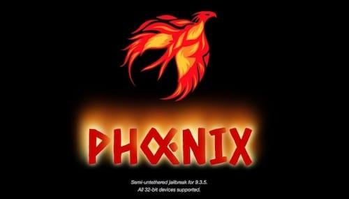 جيلبريك Phoenix لنظام iOS 9.3.5