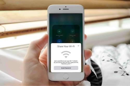 مشاركة Wi-Fi على الآي-فون و الآي-باد آي أو أس ۱۱