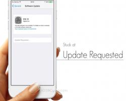 حل مشكلة تشنج الايفون على تم طلب التحديث Update Requested iOS 11