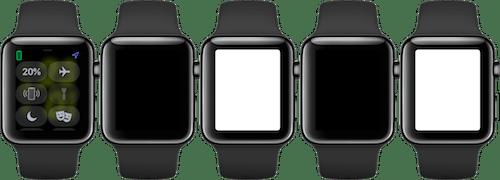 التغيير بين ألوان الفلاش على ساعة ابل واتش