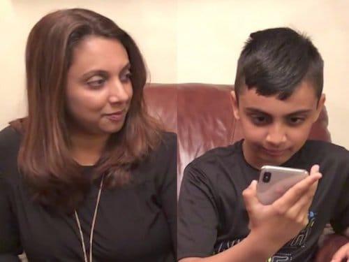 طفل في العاشرة ينجح في التحايل على بصمة الوجه في الايفون X