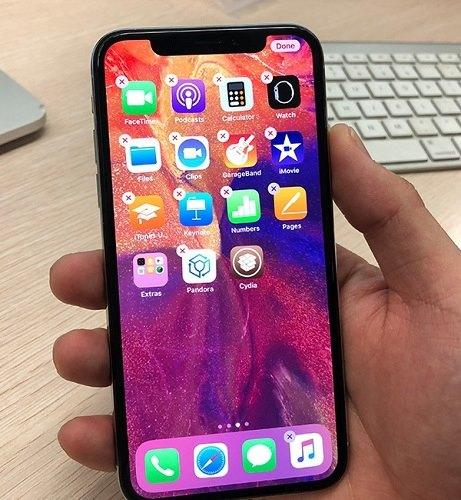 جهاز الايفون X يحتوي على الجيلبريك