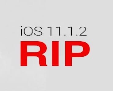 ابل تلغي نافذة العودة و الترقية إلى إصدار iOS 11.1.2