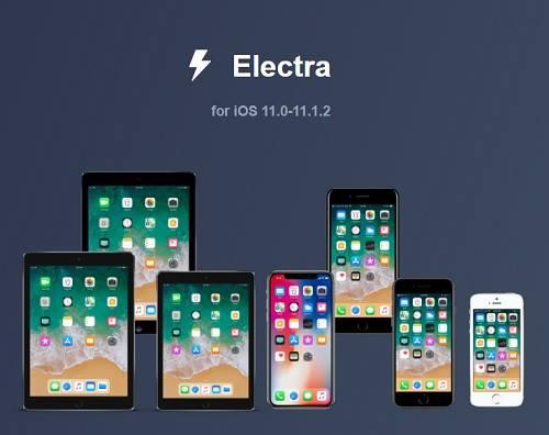 جيلبريك Electra لإصدار iOS 11- 11.1.2