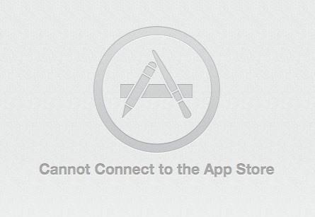 حل مشكلة لا يمكن الاتصال بـ App Store