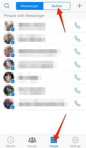 إعدادات اخفاء اخر ظهور في الفيس بوك للايفون