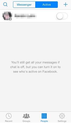 اخفاء اخر ظهور في الفيس بوك للايفون