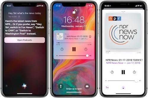 ميزة قراءة الأخبار باستخدام Siri على الايفون