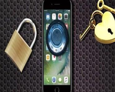 شرح كيفية قفل الصور على الايفون بالبصمة