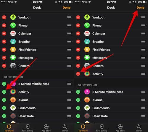 قائمة التحكم في التطبيقات و إضافتها للمفضلة