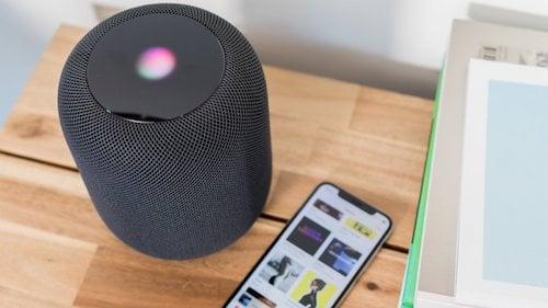 سماعات HomePod و الايفون عشرة