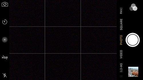 ميزة الشبكة في كاميرا الايفون