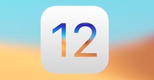 شعار نظام iOS 12