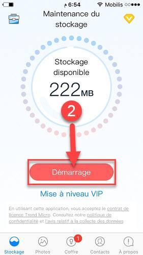 شرح برنامج تنظيف الايفون من الابل ستور مجانا
